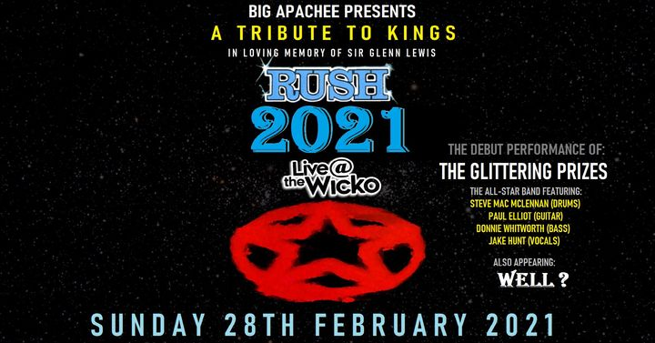 Rush 2021: A Tribute To Kings – Live@TheWicko