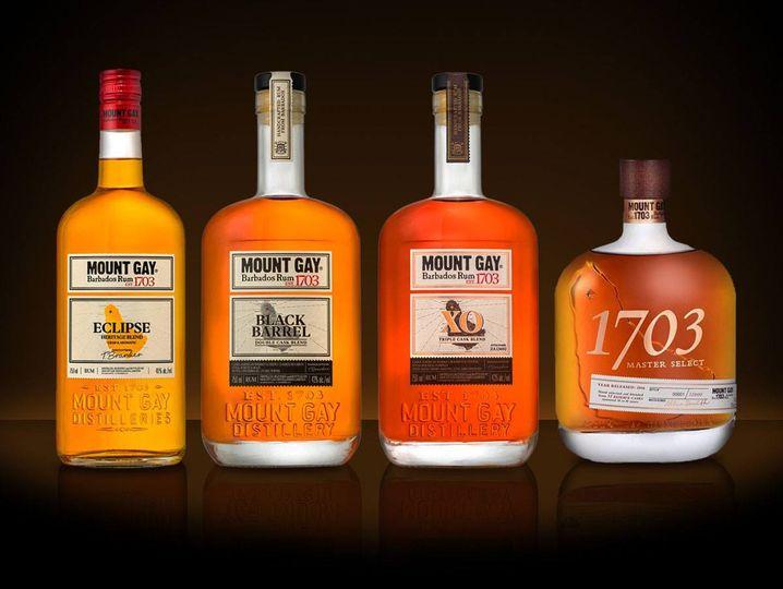 Mt Gay Rum Club Tasting