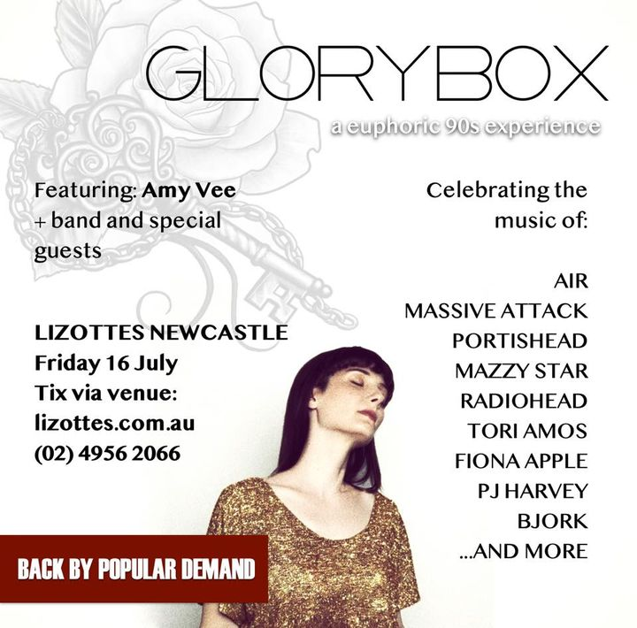 GLORY BOX: a euphoric 90s experience with Amy Vee