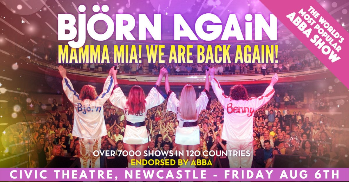 BJORN AGAIN – Newcastle, NSW – Mamma Mia! WE ARE BACK AGAIN!!