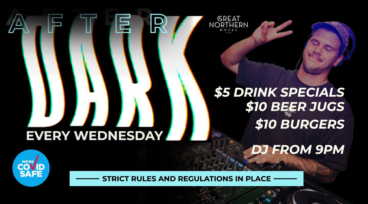 AFTERDARK Wednesdays ✩ Student Night