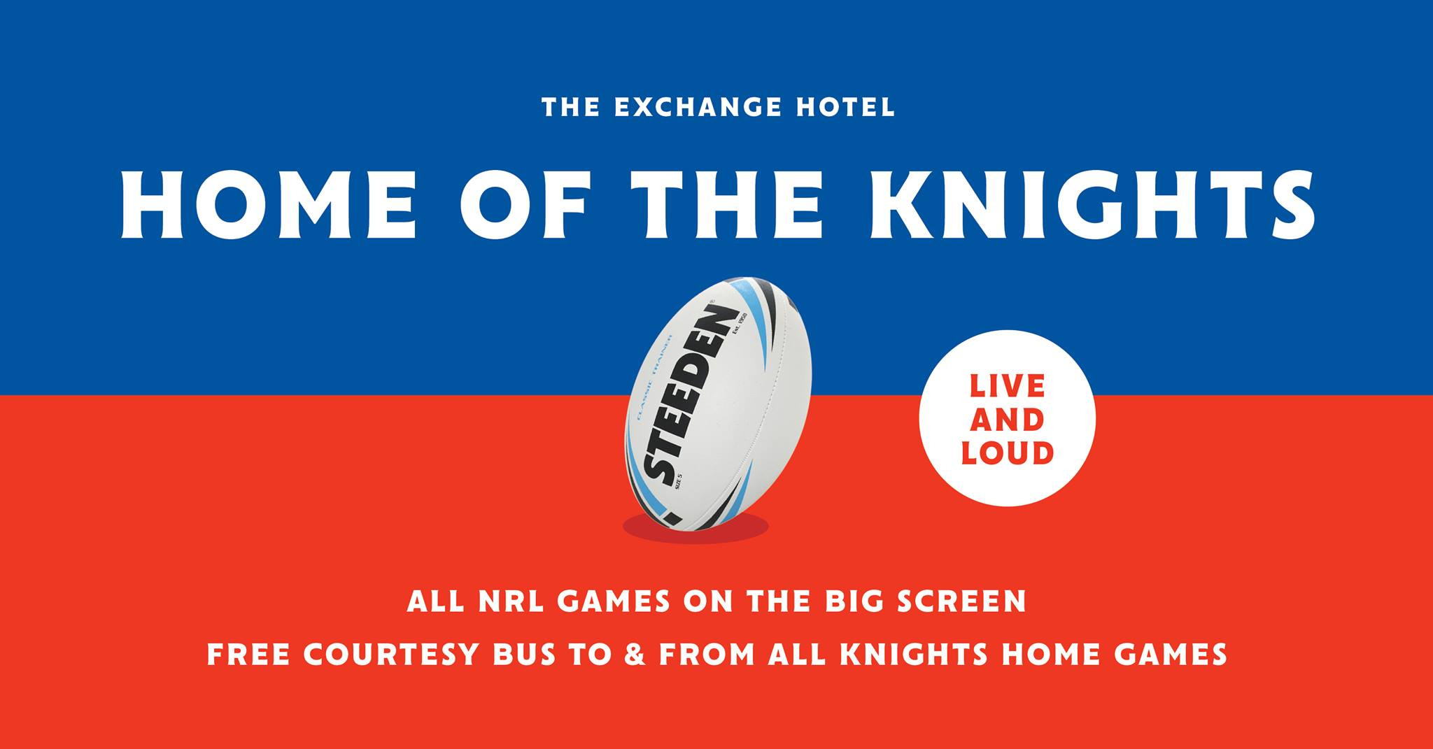 Home of the Knights – All Games Live and Loud!