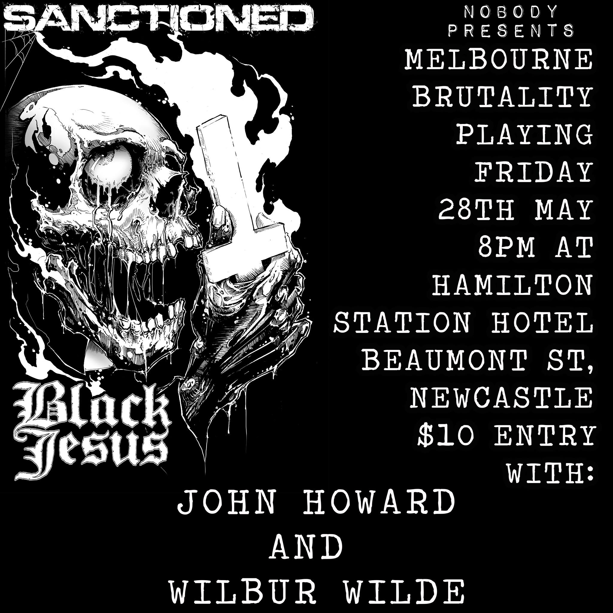 Black Jesus & Sanctioned at The Hamilton Station Hotel