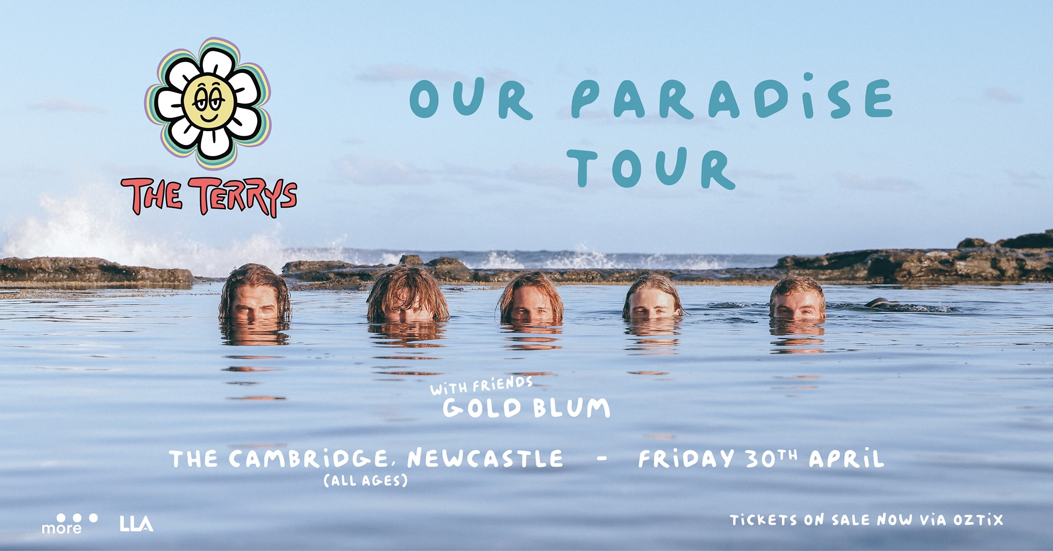 The Terrys – Our Paradise, Newcastle (all ages)