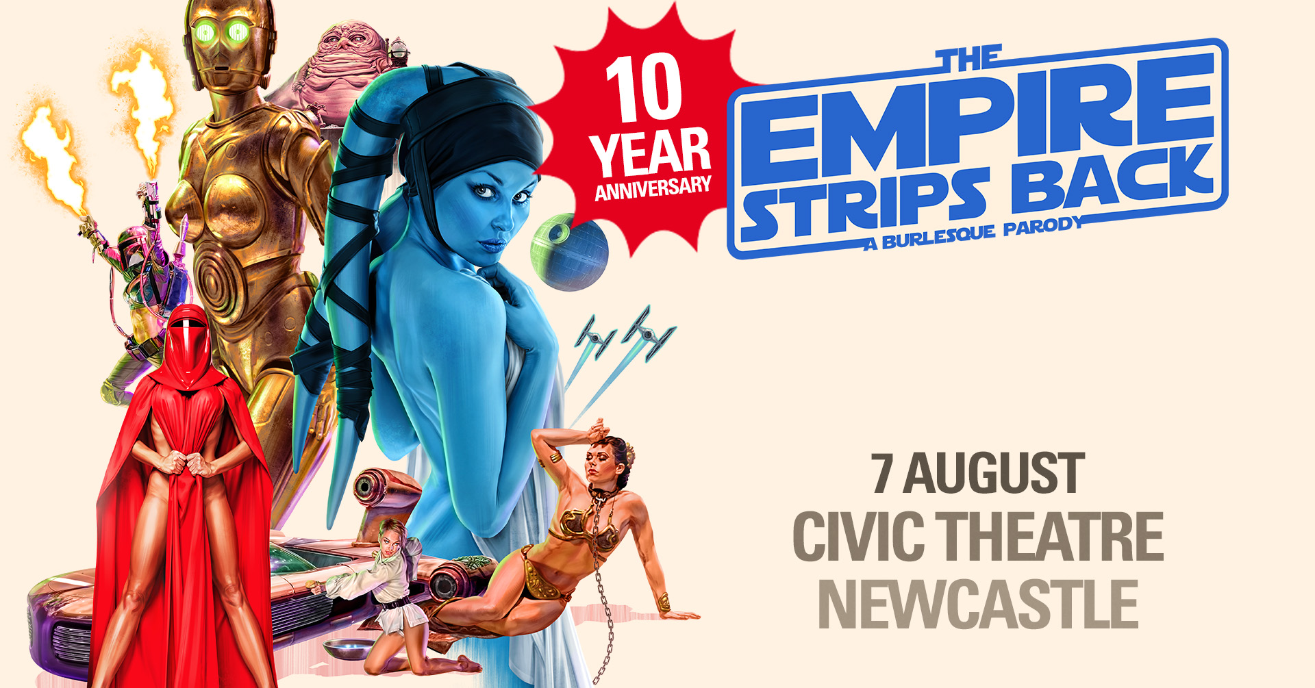 The Empire Strips Back 10 Year Anniversary Tour Newcastle