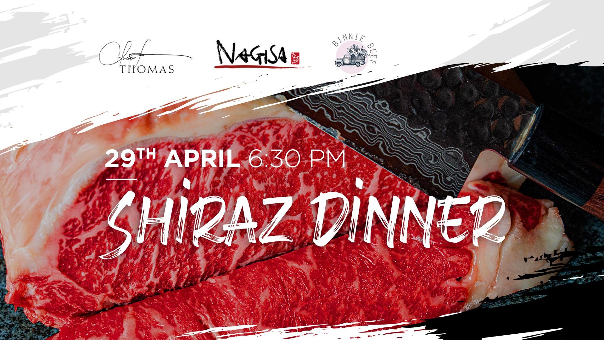 Thomas Wines X Nagisa X Binnie Beef Shiraz Dinner