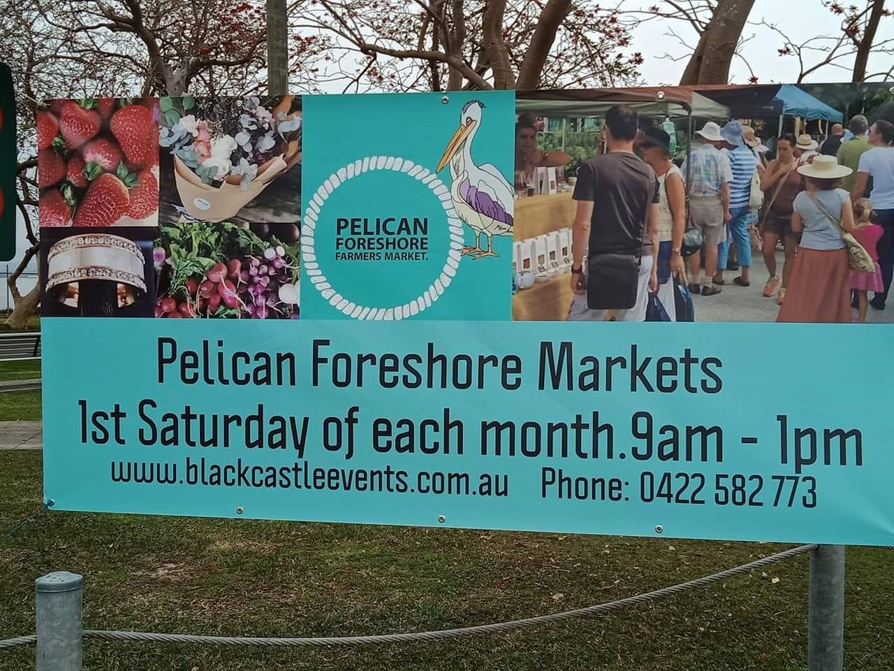 Pelican foreshore market
