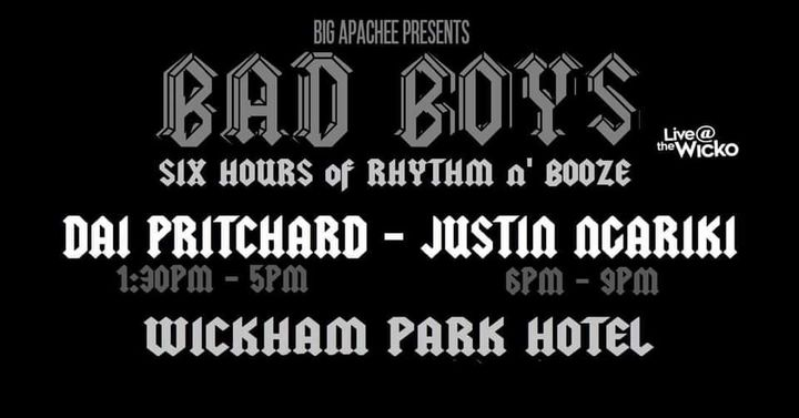 BAD BOYS – Live@TheWicko