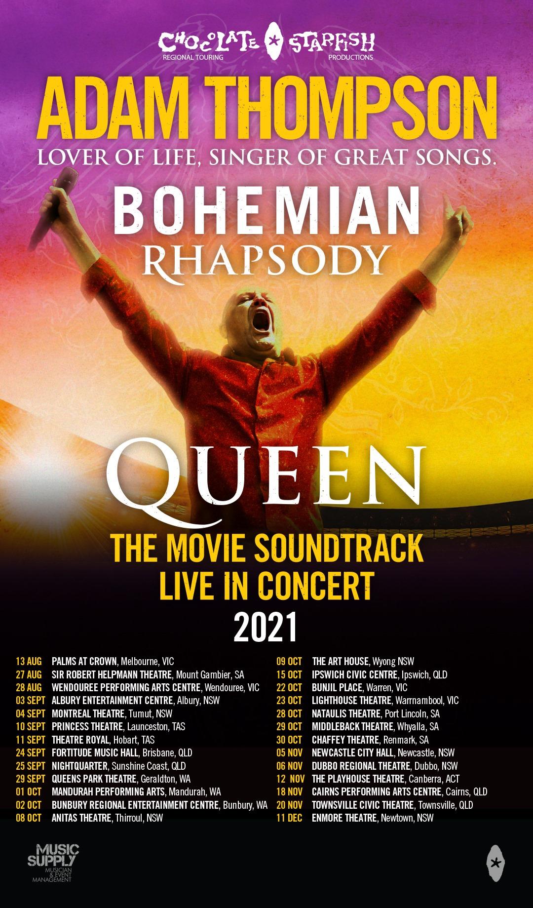 Adam Thompson  performs Bohemian Rhapsody