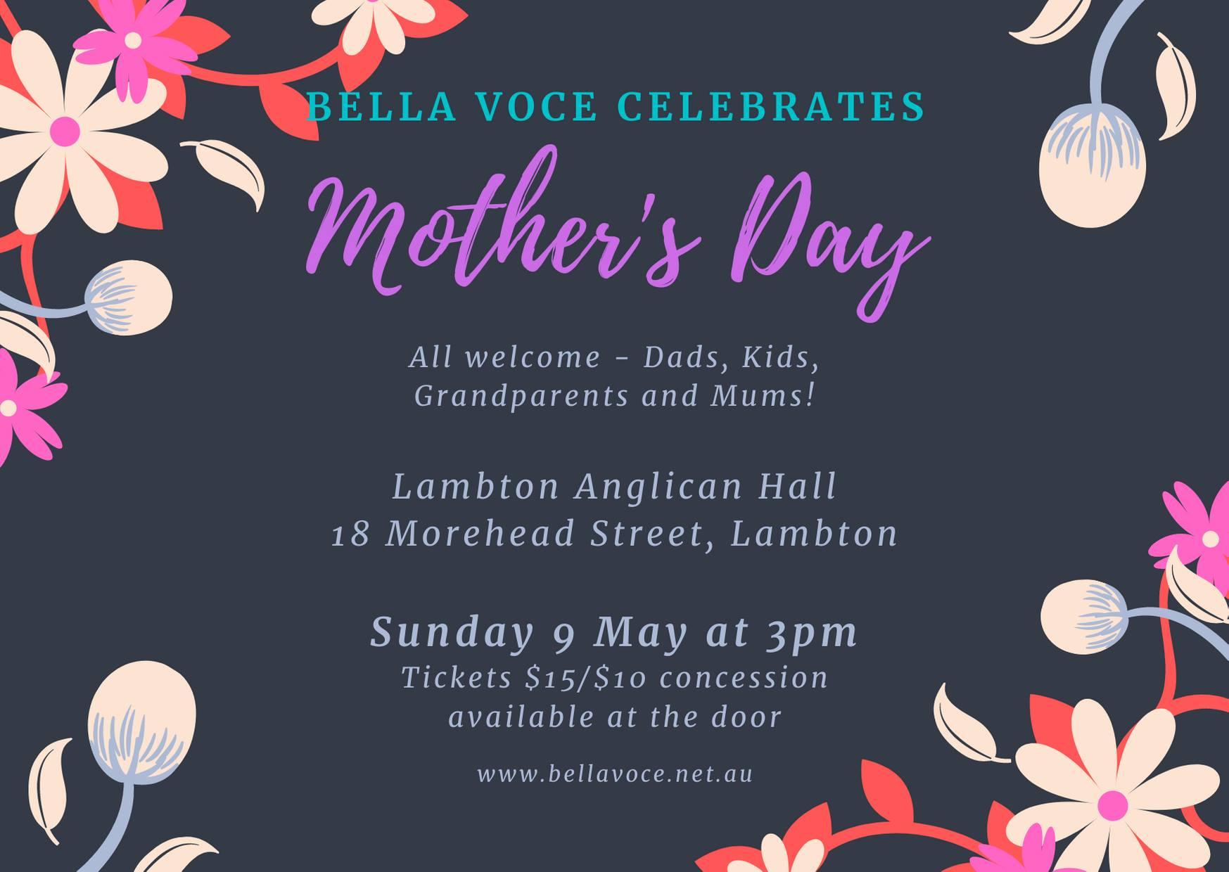 Bella Voce celebrates Mother's Day