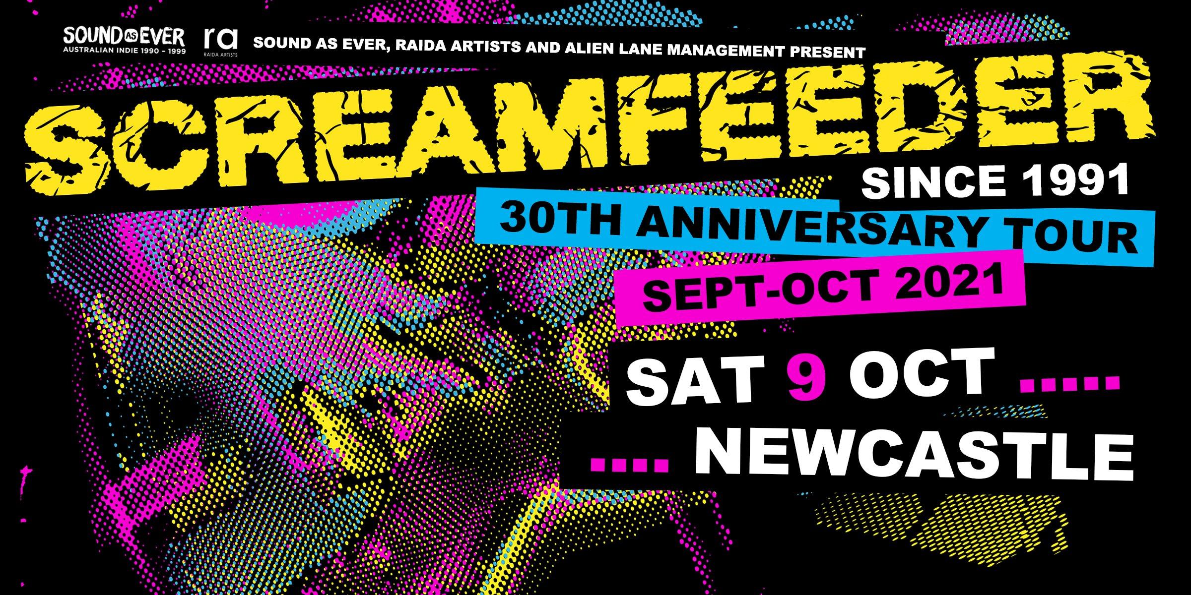 Screamfeeder Since 1991 Tour 2021 – Newcastle: The Cambridge