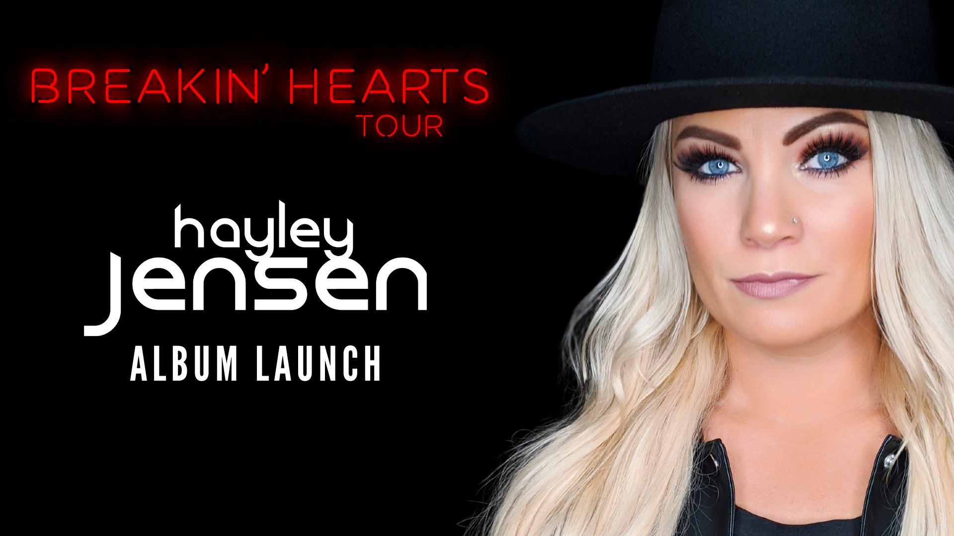 Hayley Jensen – Breakin' Hearts Album Launch Tour – Newcastle, NSW