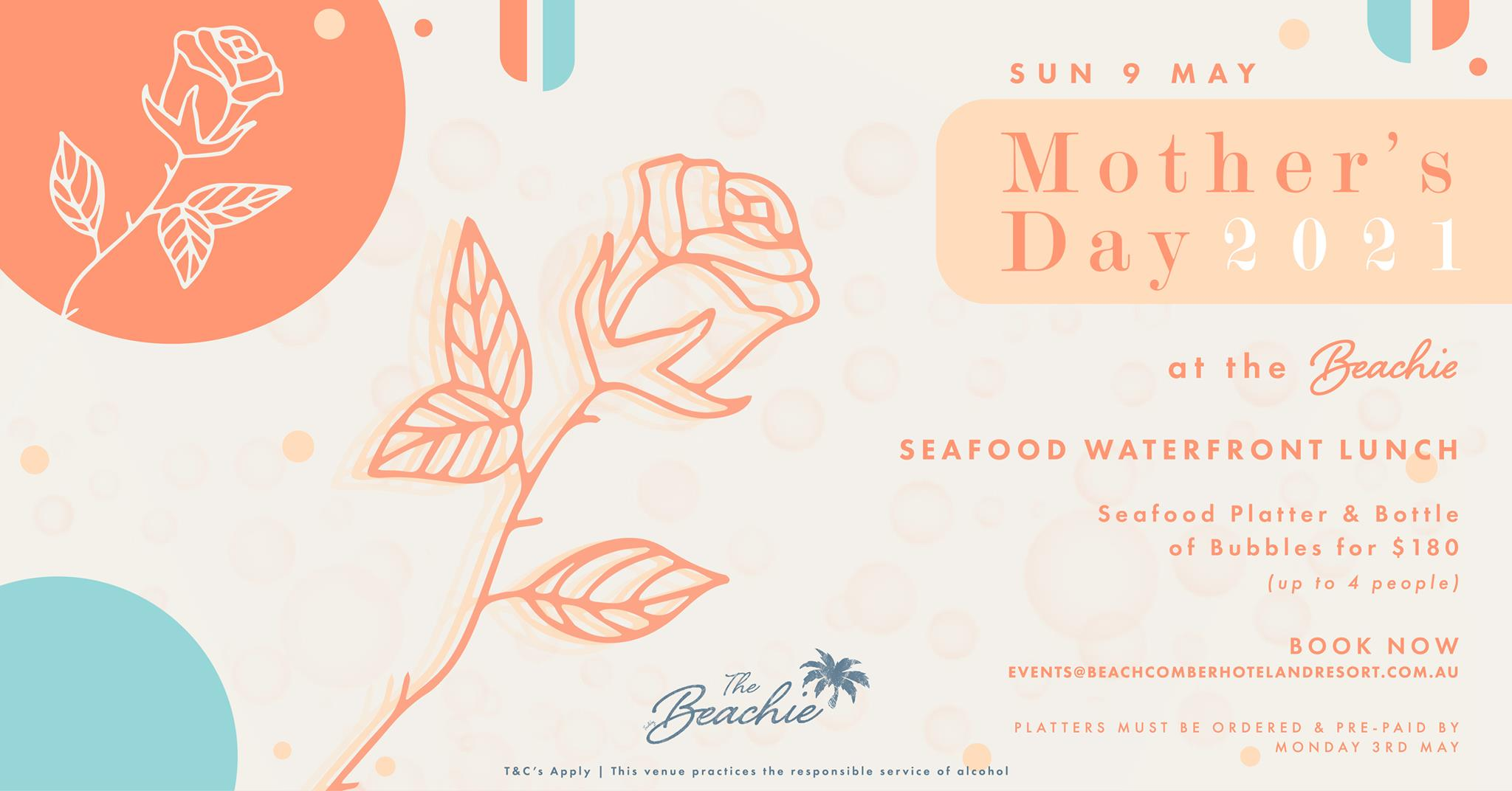 Mother's Day at the Beachie