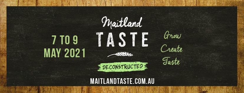 Maitland Taste Deconstructed