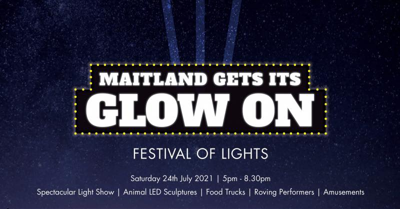 Maitland 'Gets Its Glow On'