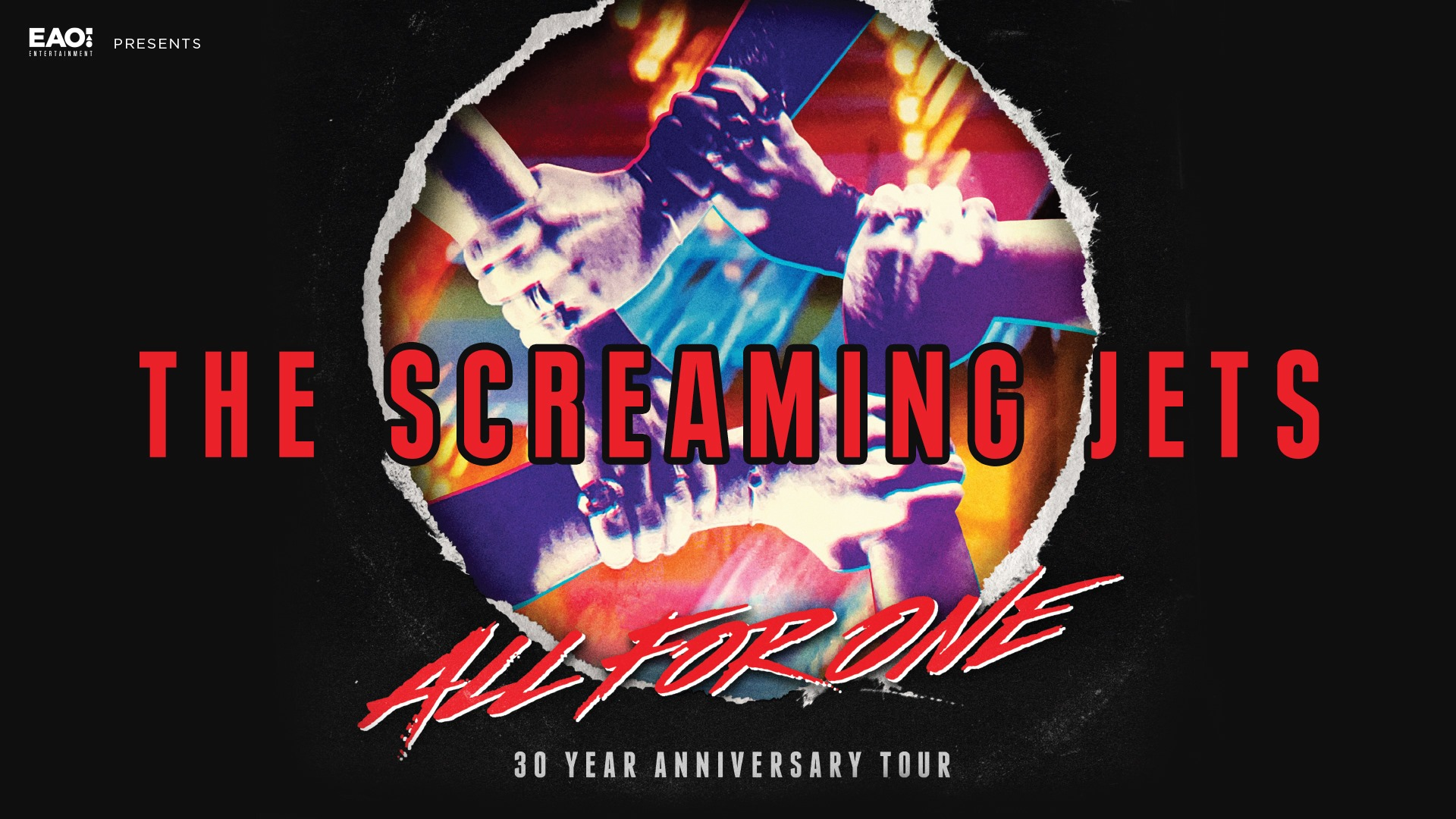 CANCELLED: SCREAMING JETS: All For One 30th Anniversary Tour