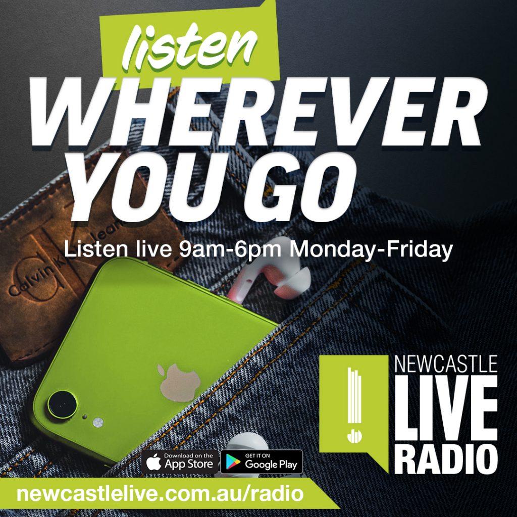 Newcastle Live Radio App