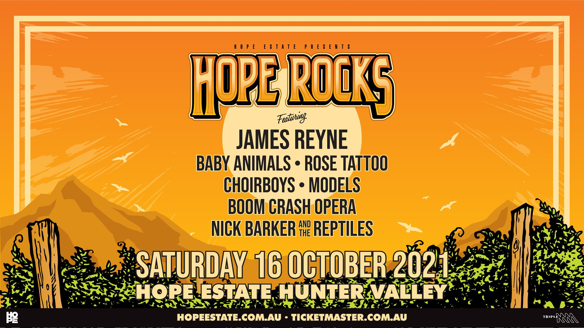 HOPE ROCKS 2021