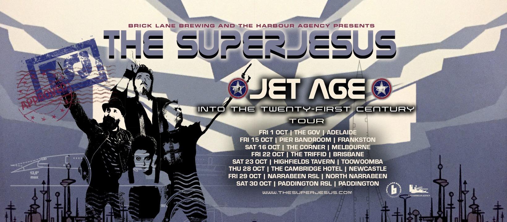 Jet Age into the 21st Century Tour – Newcastle
