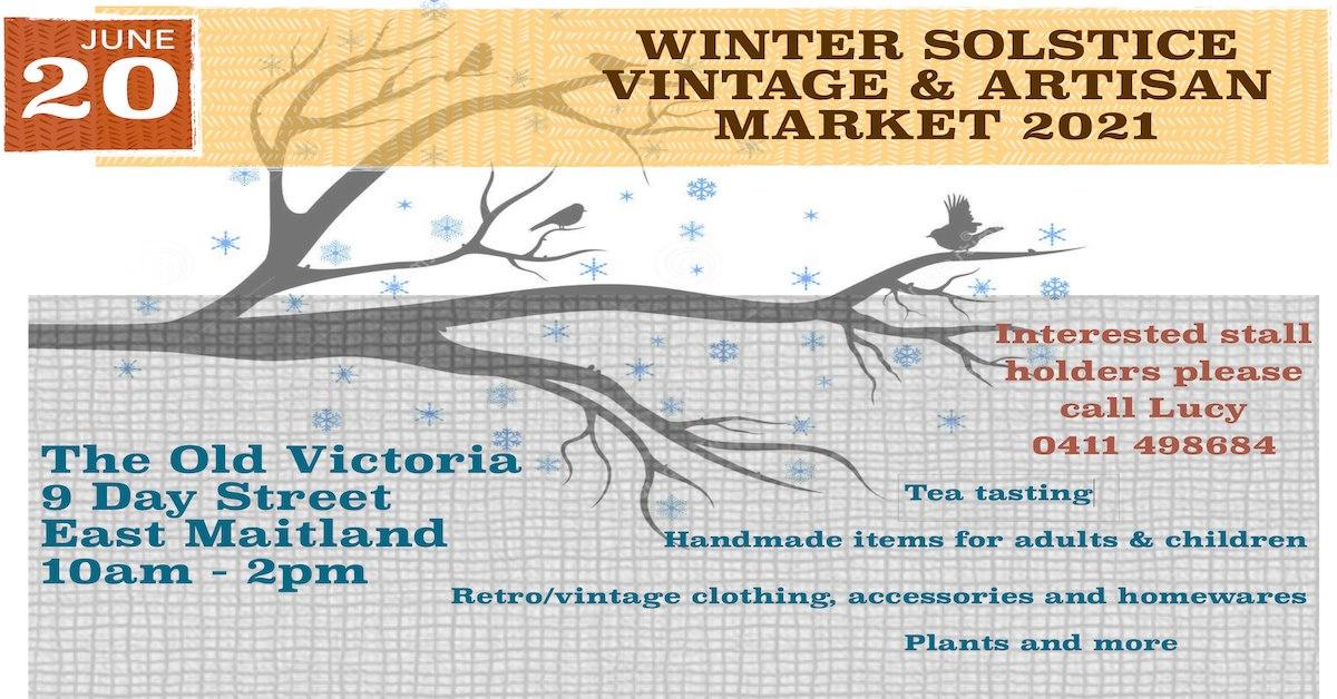 Winter Solstice Vintage and Artisan market