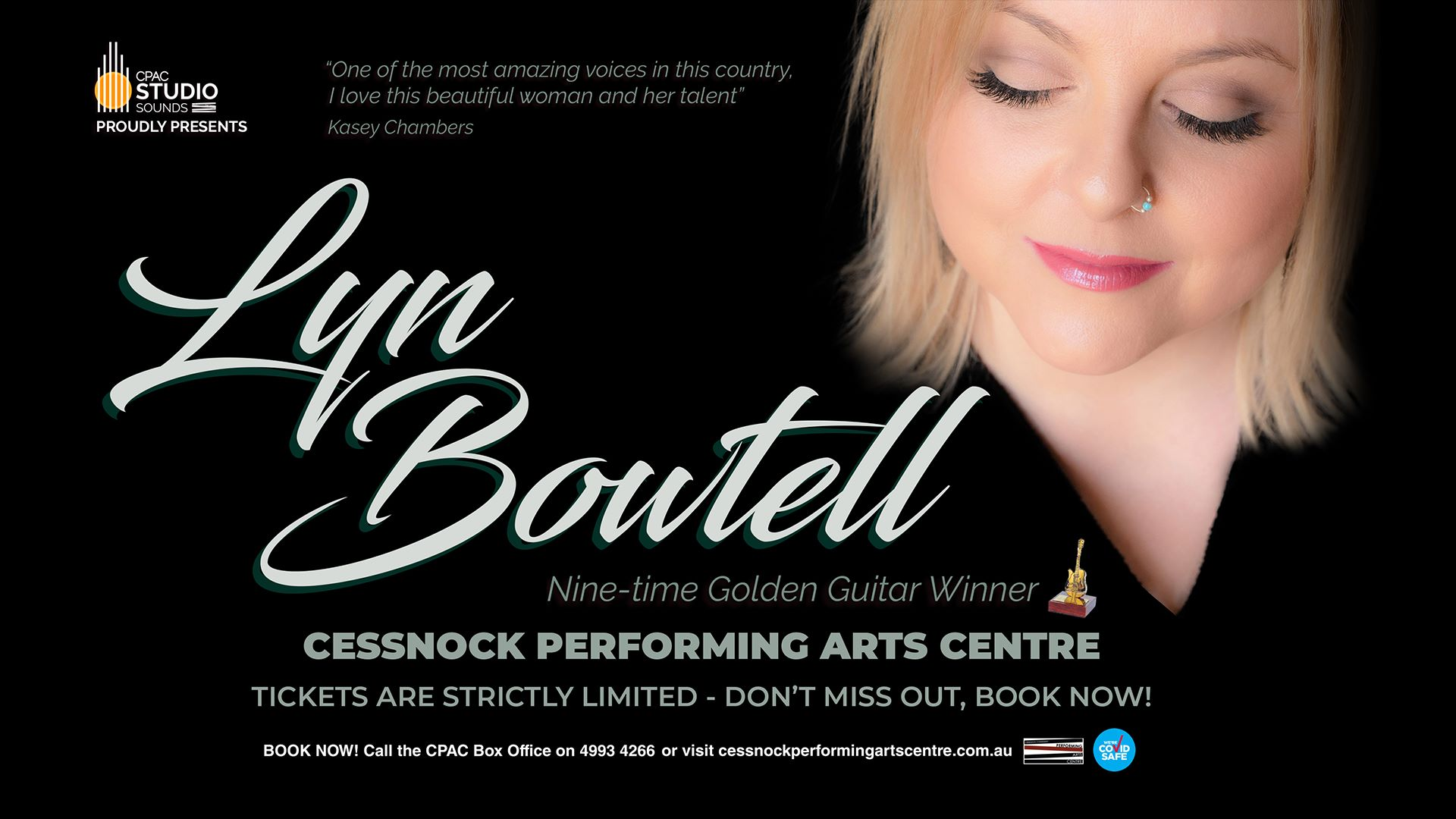 CPAC STUDIO SOUNDS Presents LYN BOWTELL
