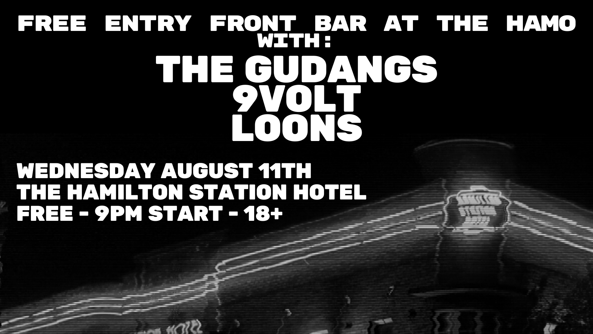 The Gudangs / 9Volt / Loons