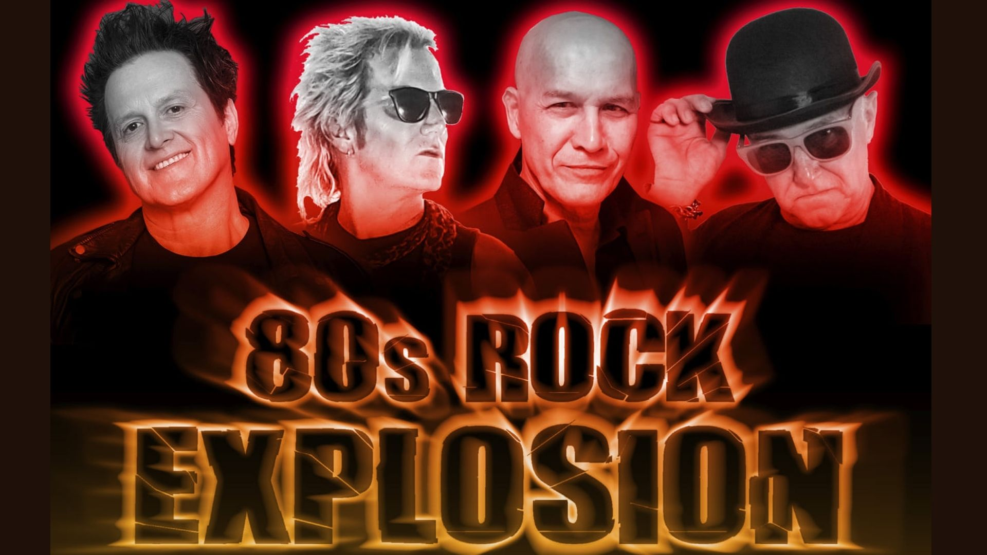 The Absolutely 80's, '80s ROCK EXPLOSION SHOW'