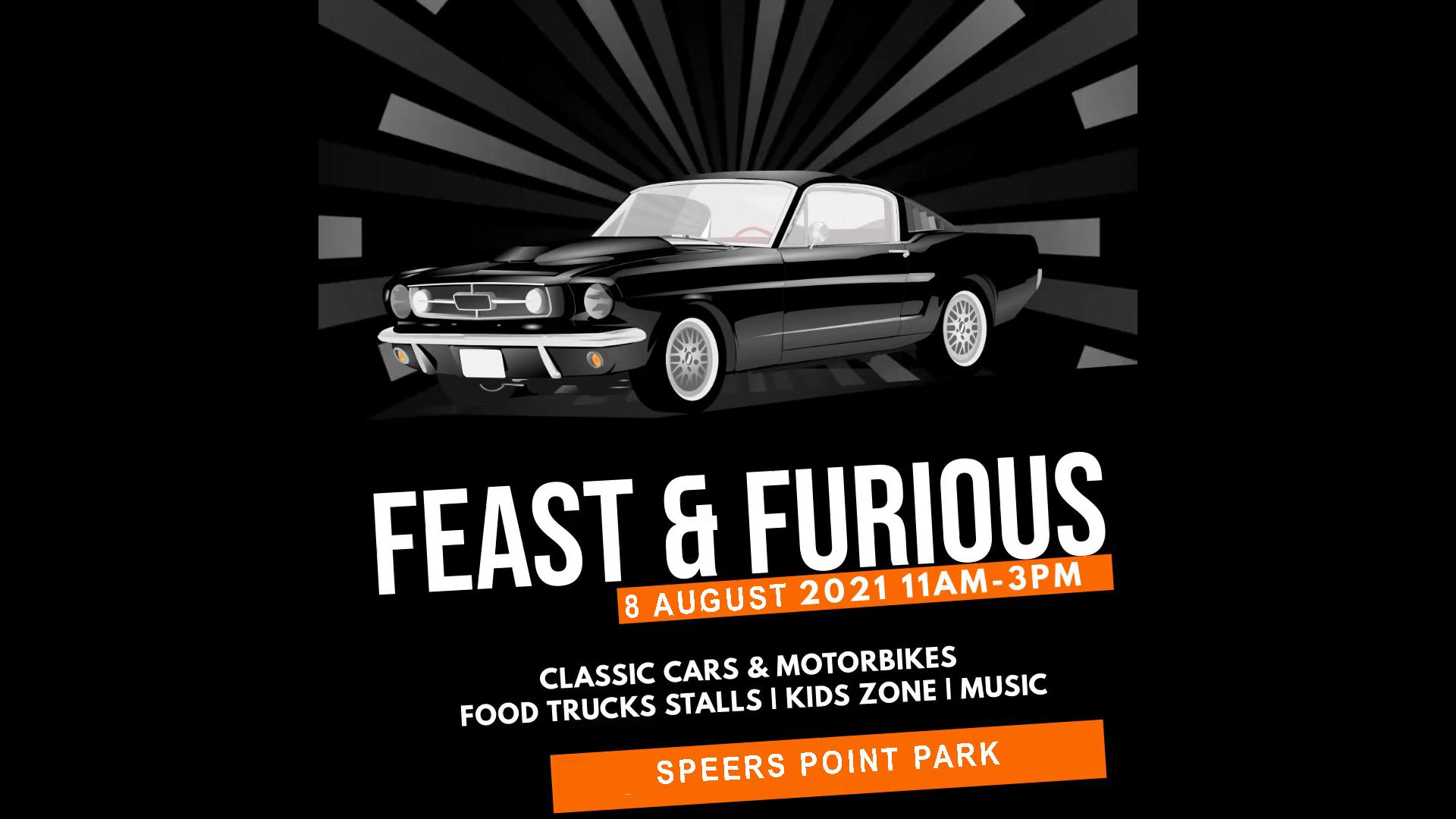 FEAST & FURIOUS: Classic Cars & Bikes show
