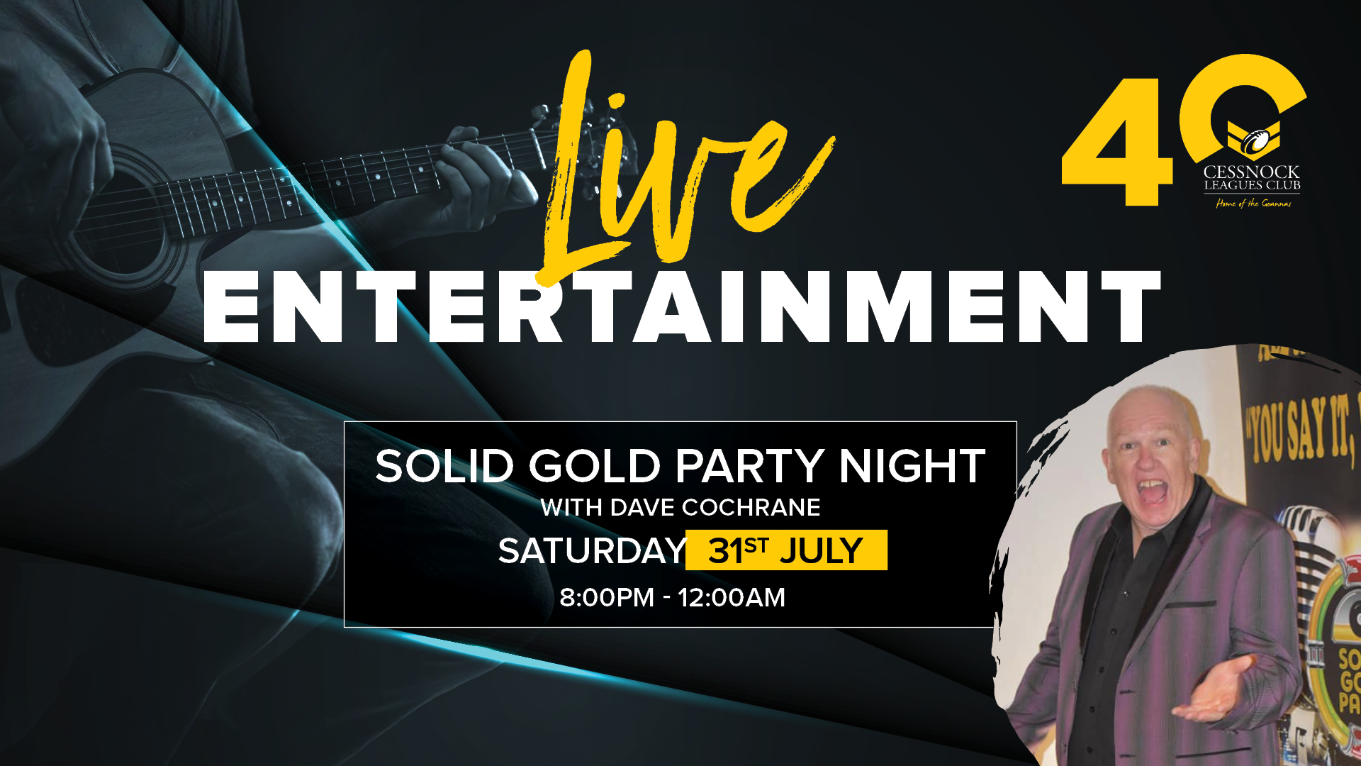 Solid Gold Party Night