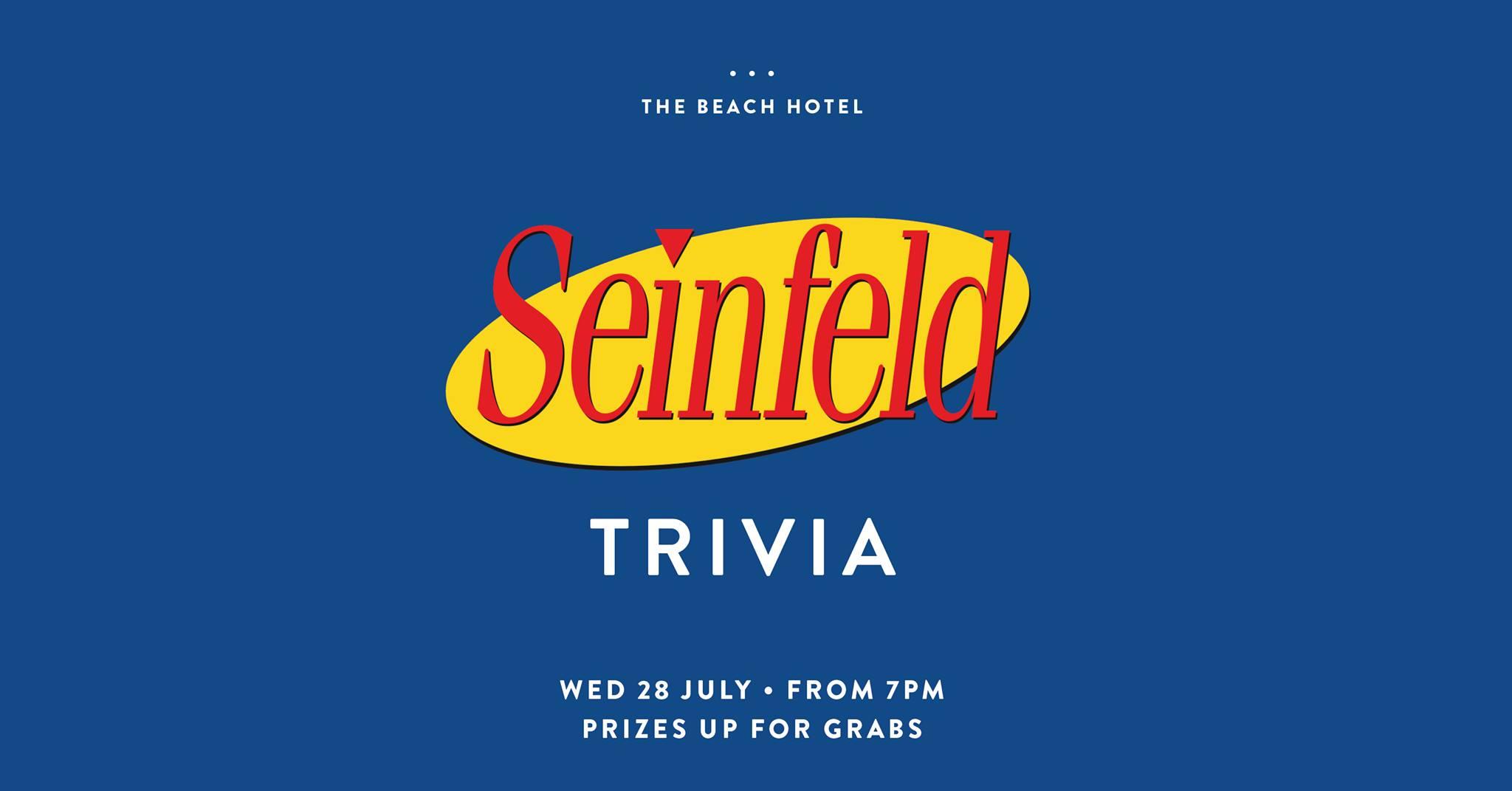 Seinfeld Trivia at The Beaches