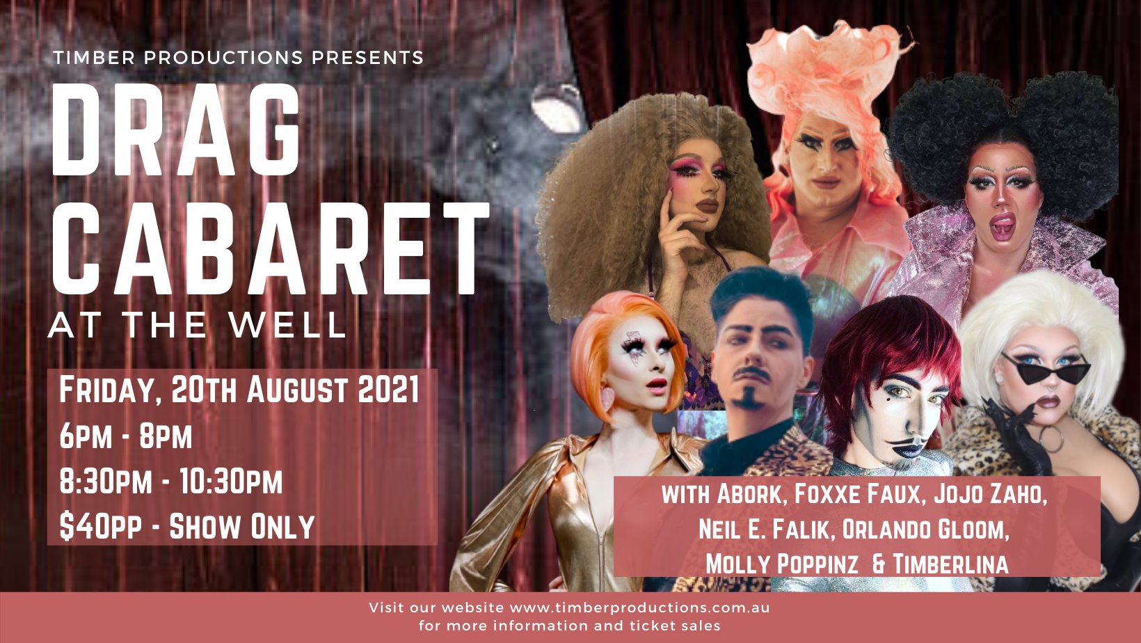 Drag Cabaret at The Well Bar   20th Aug 2021