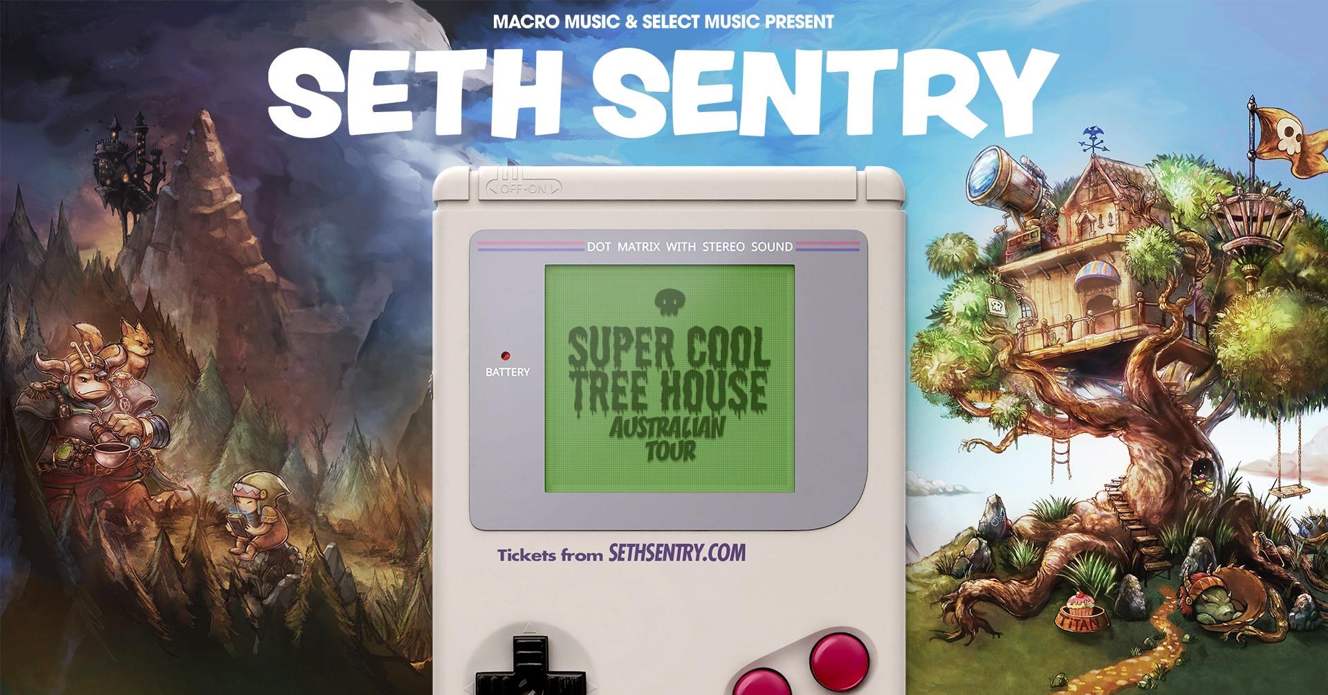 Seth Sentry – Super Cool Tree House Tour – Cambridge Hotel, Newcastle NSW – FRI 01 OCT