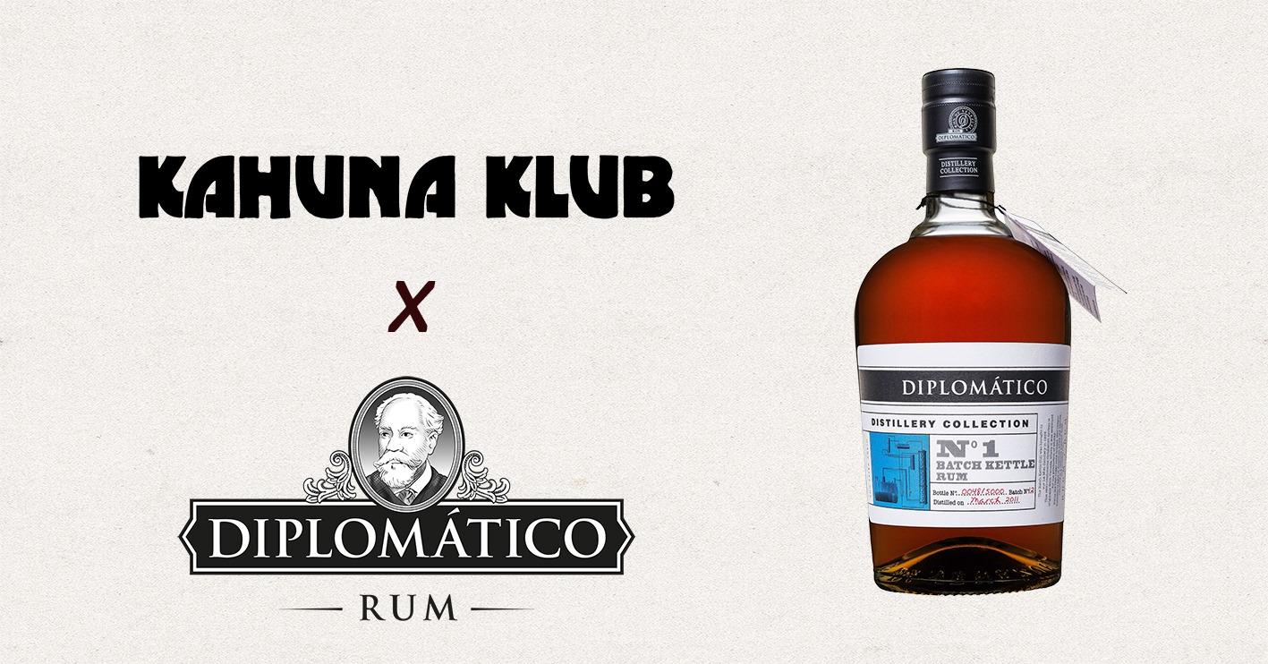 Kahuna Klub x Diplomatico Rum
