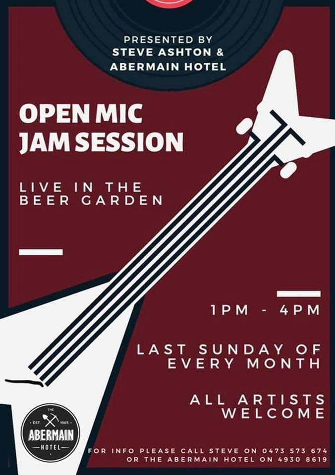 Sunday Open Mic Session