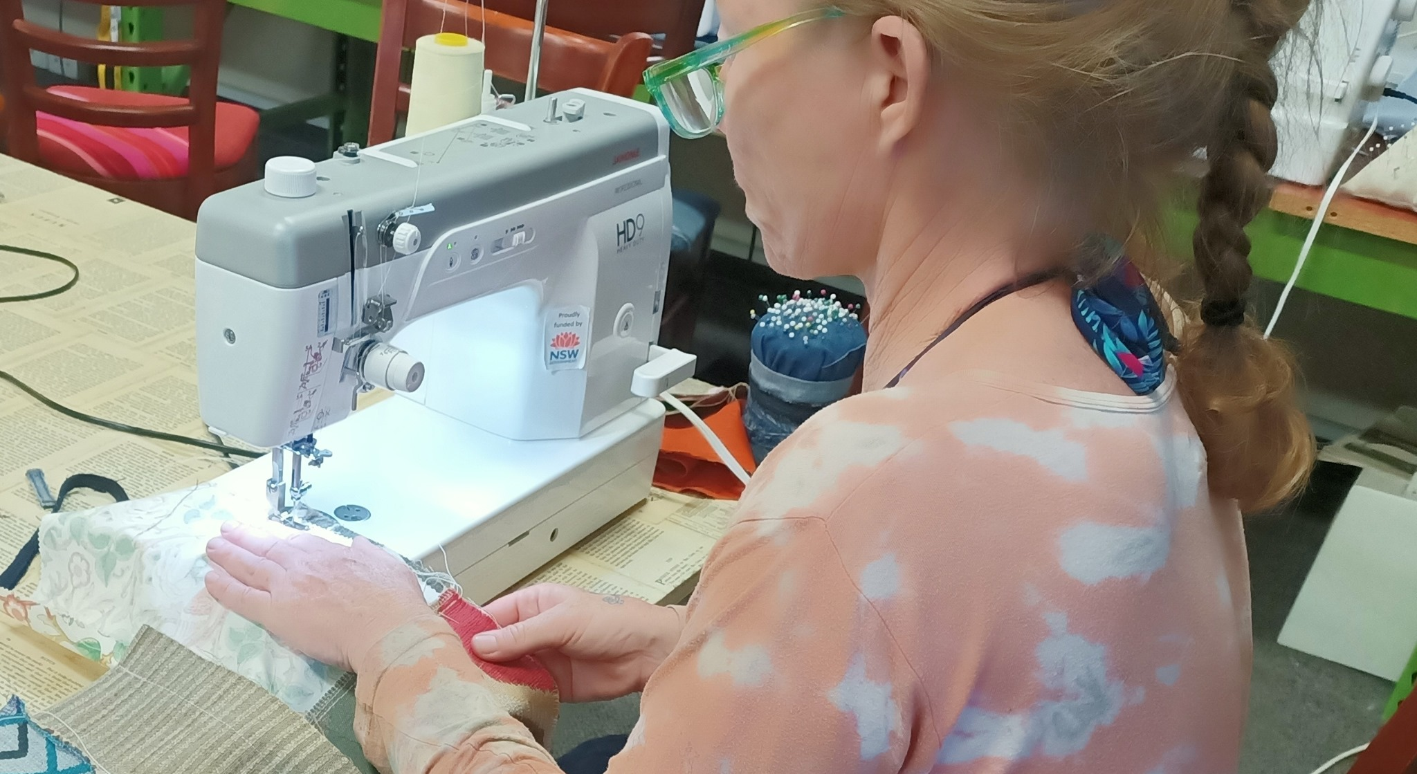Beginner upcycling Sewing Course