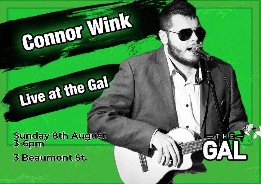 Connor Wink at The Gallipoli Legion Club Sunday Sesh