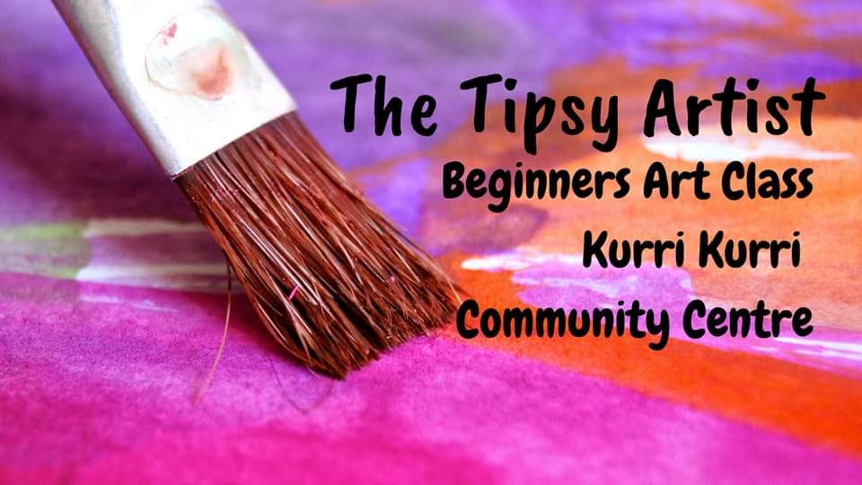 The Tipsy Artist Community Class.