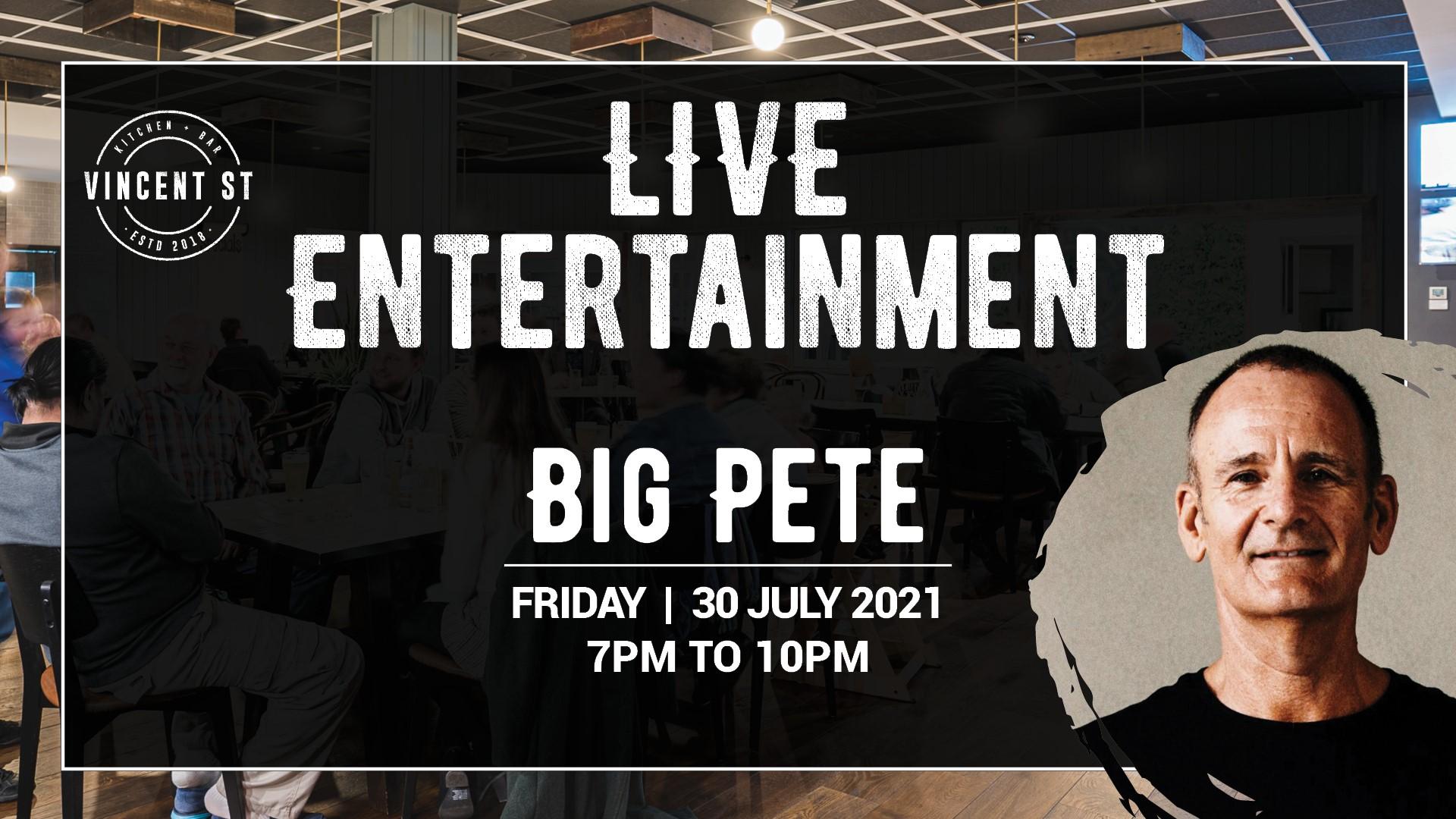 Big Pete – LIVE