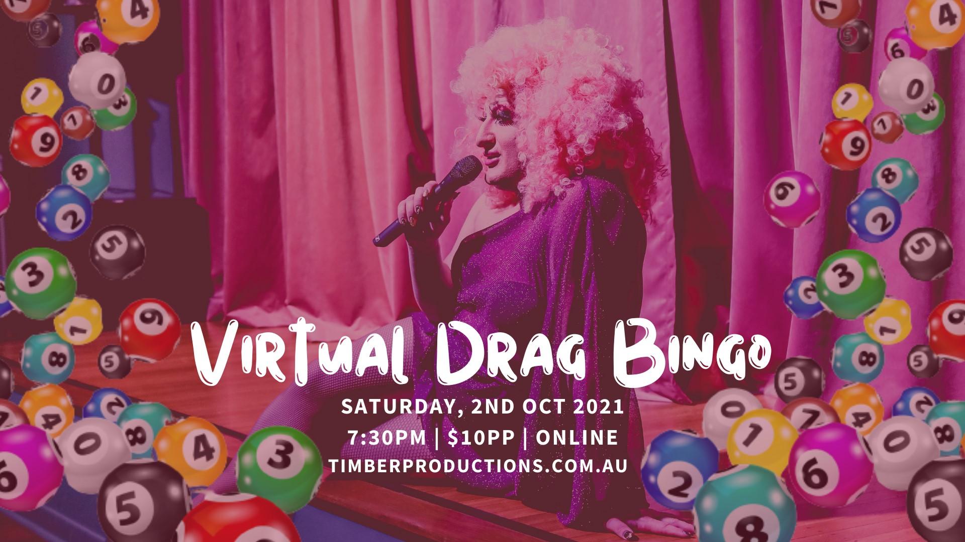 Virtual Drag Bingo with Timberlina
