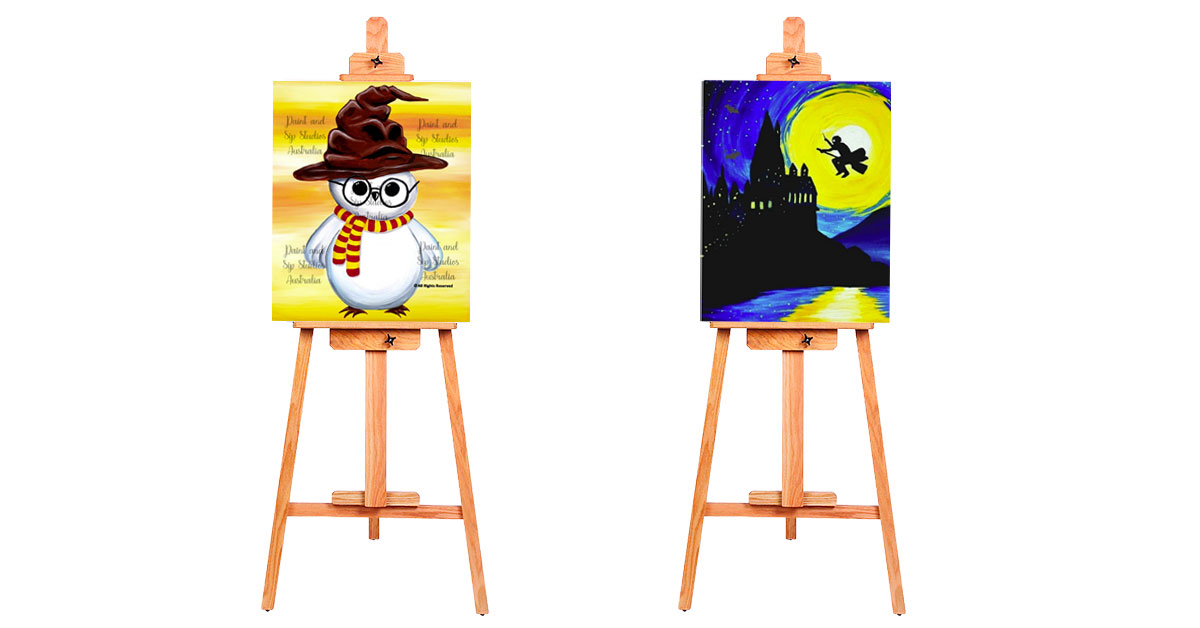 VIRTUAL PAINT & SIP: Harry Potter themed painting sessions